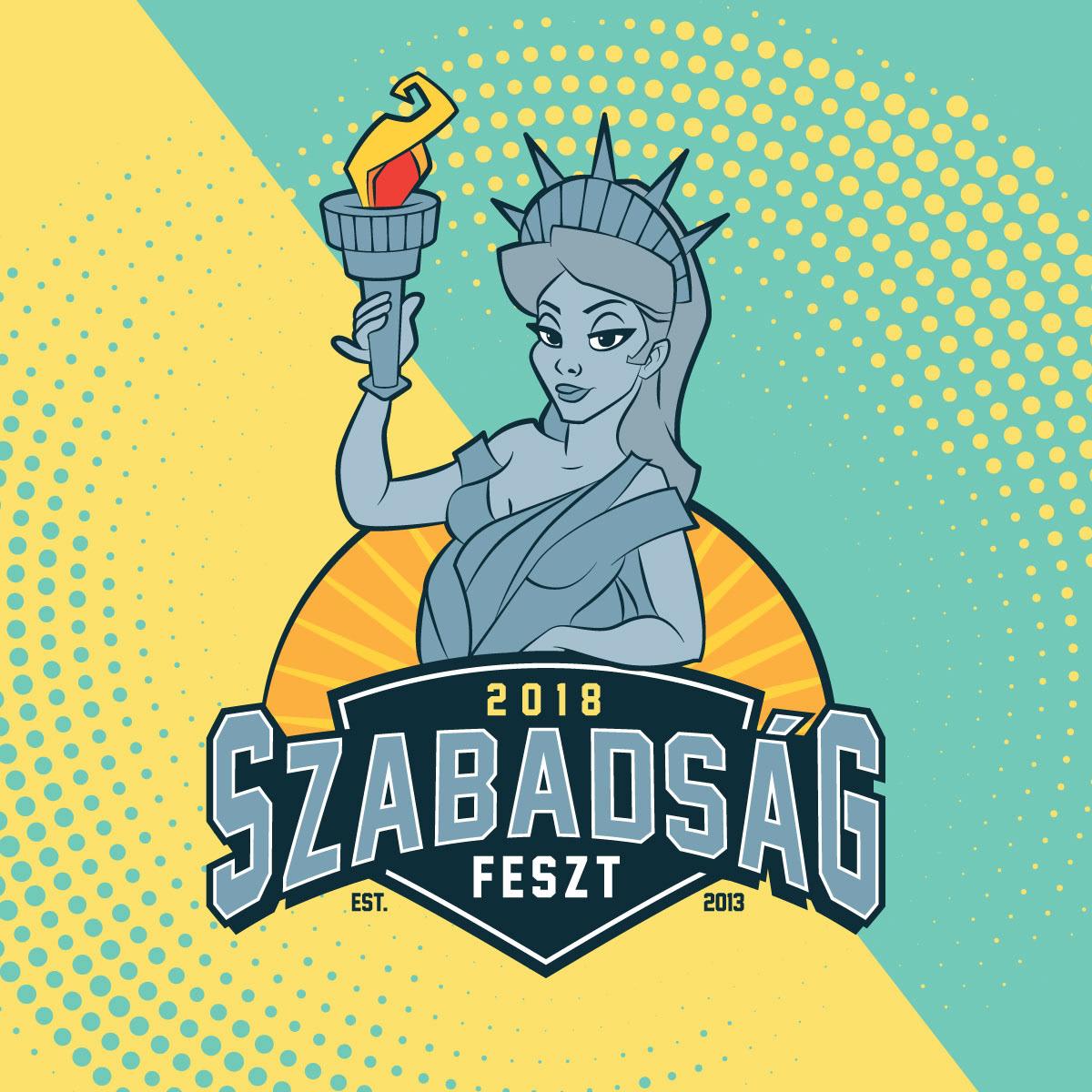 Szabadság Feszt 2018 logo
