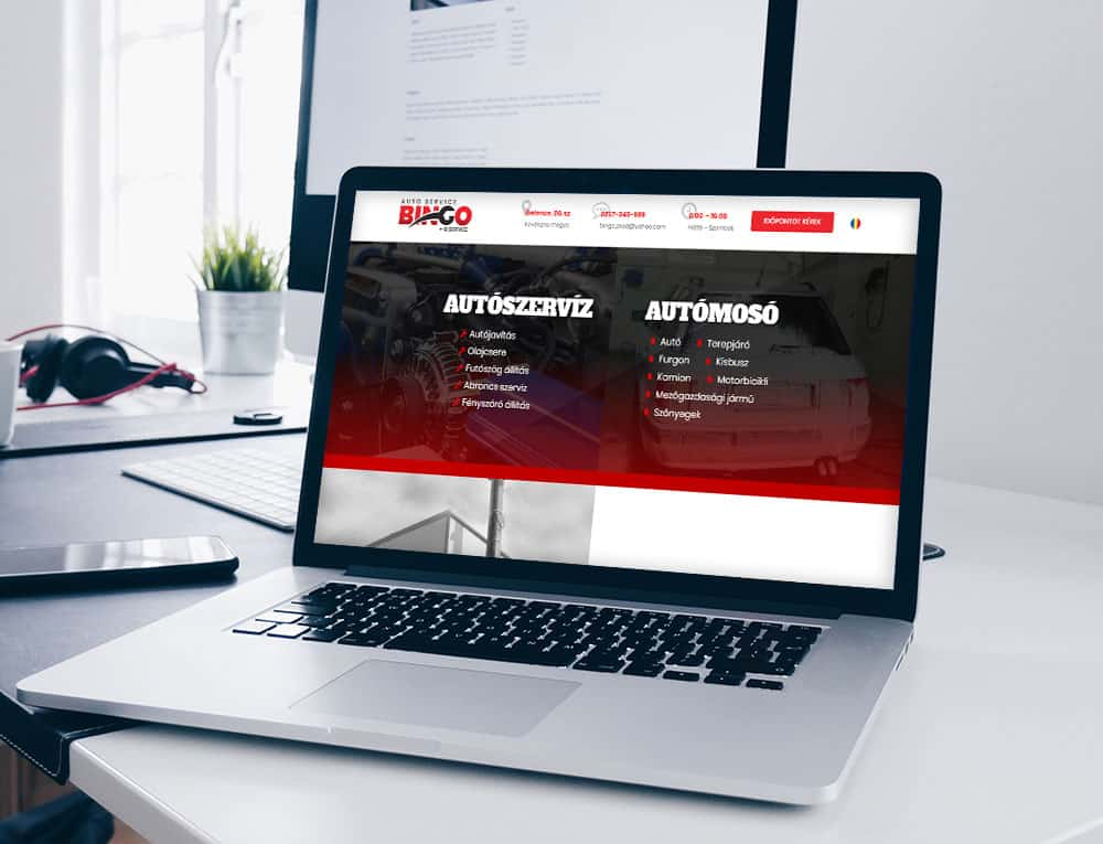 Bingo Service Gelence - Weboldal