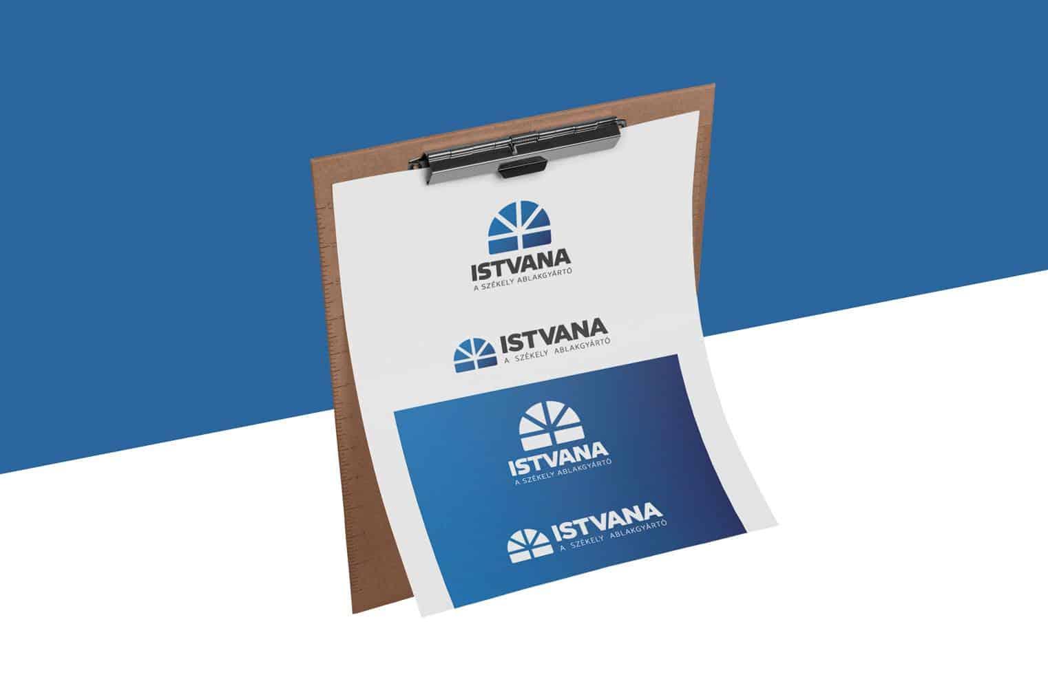 Istvana logo verziok